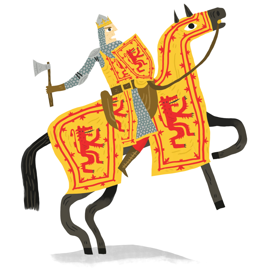 Robert the Bruce, 1274-1329, King of Scotland