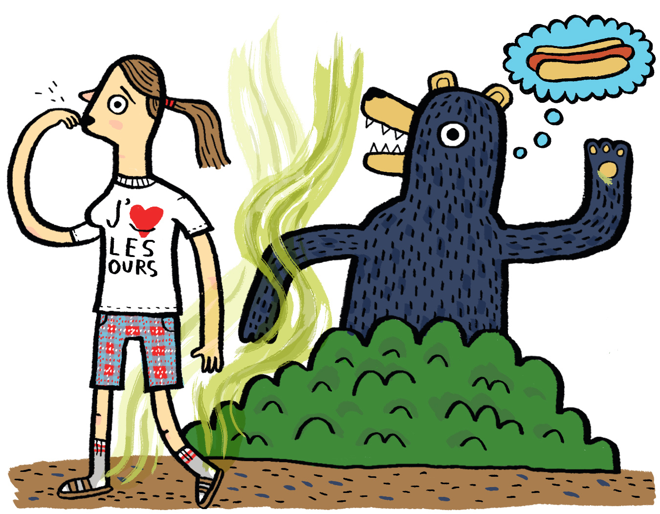 Fashion tips to avoid getting eaten by bears!