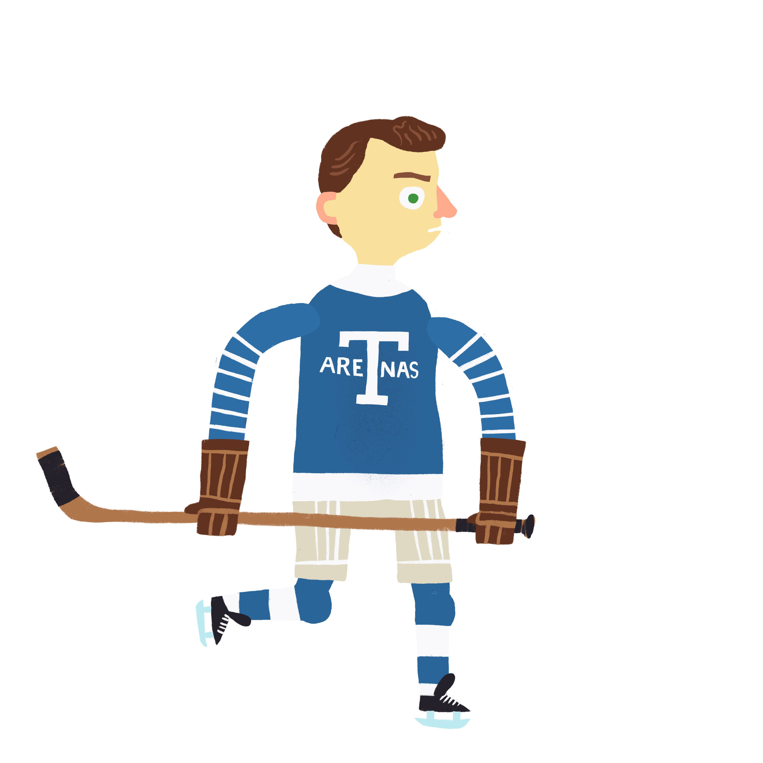 JACK ADAMS, b. Fort William, ON Toronto Arenas (1917-19), Toronto St. Patricks (1923-26)