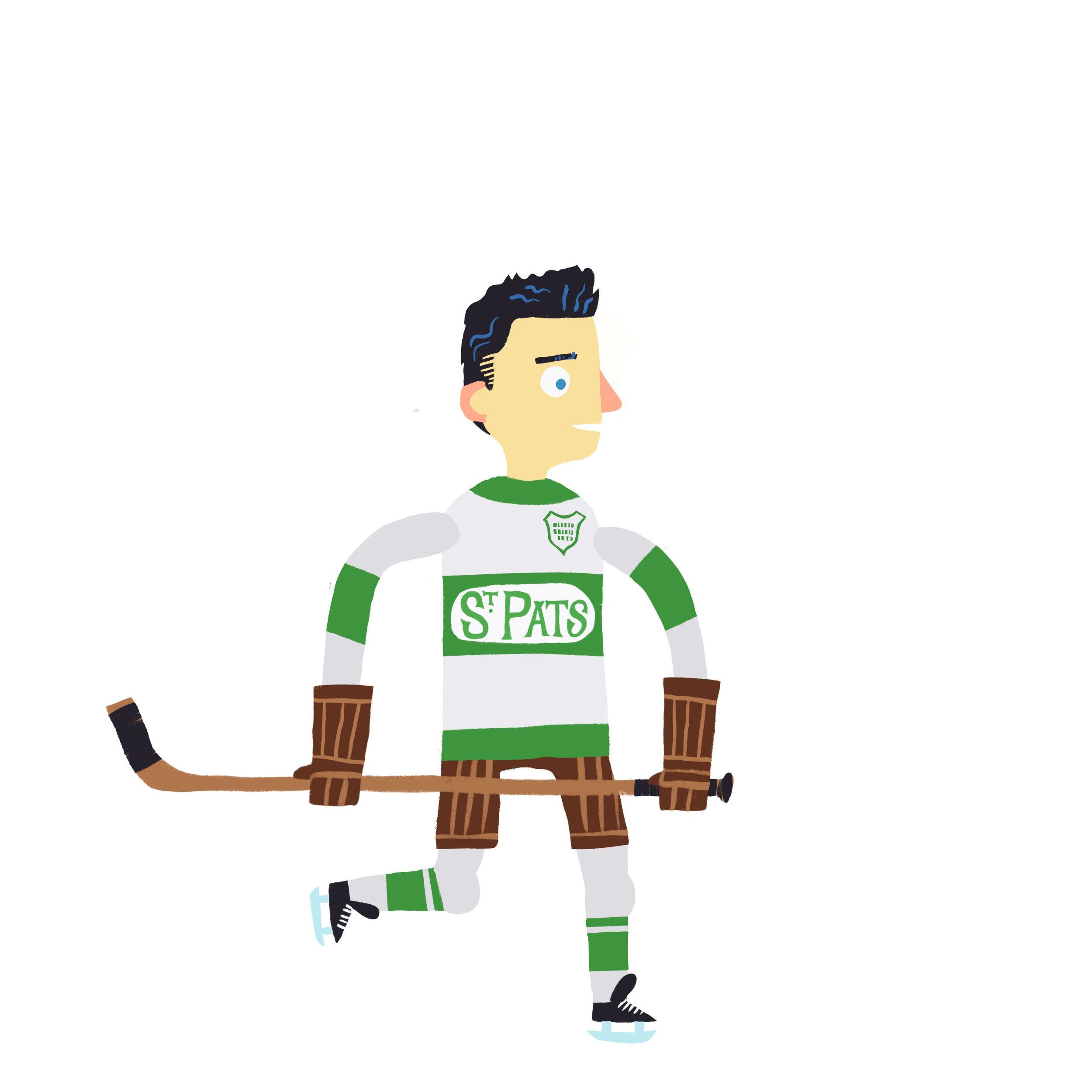 BABE DYE, b. Hamilton, ON, CAN Toronto St. Patricks (1918-26) Toronto Maple Leafs (1930-31)