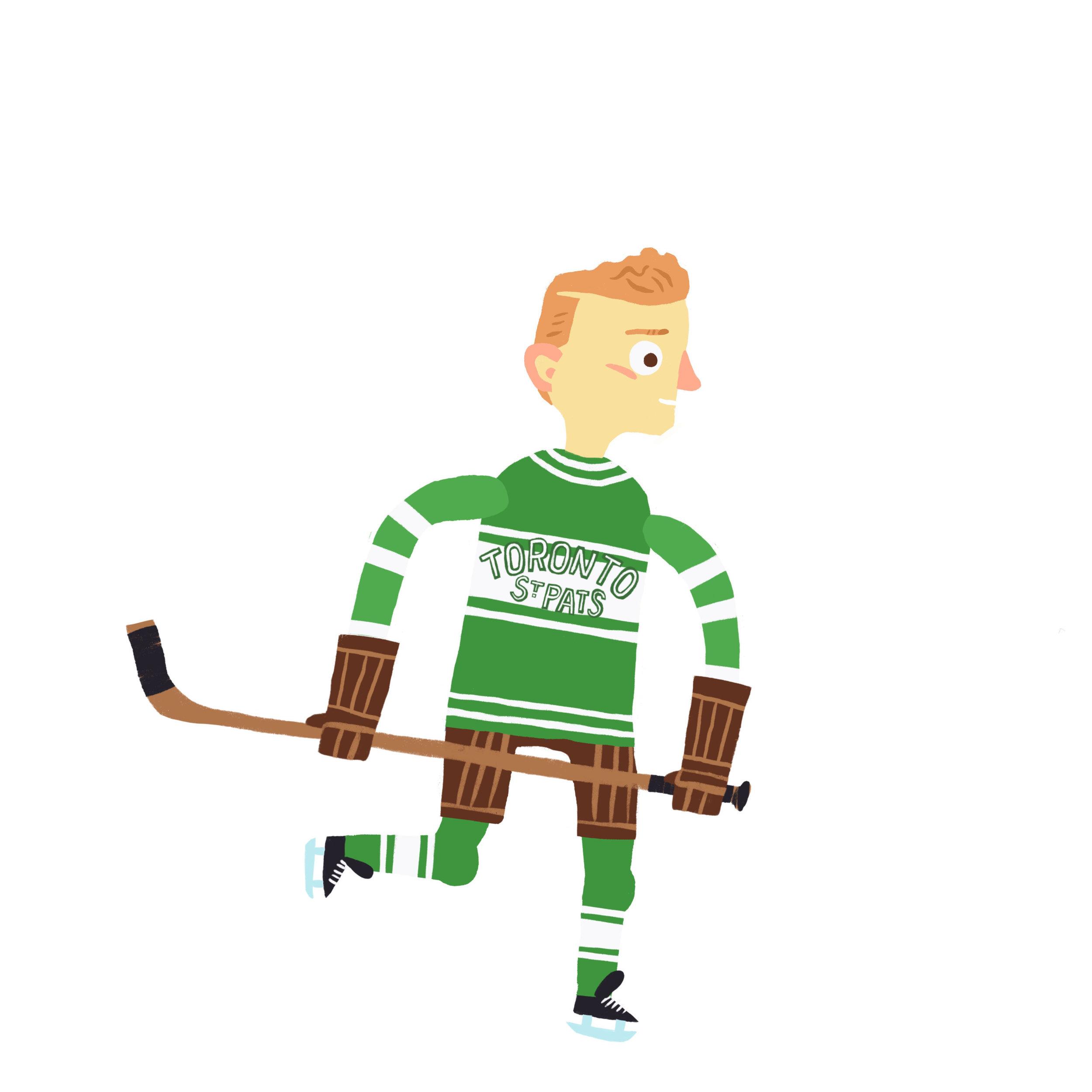 "CLARENCE HENRY ""HAPPY"" DAY, b. Owen Sound, ON Toronto St. Patricks (1924-27), Toronto Maple Leafs (1927-37)"