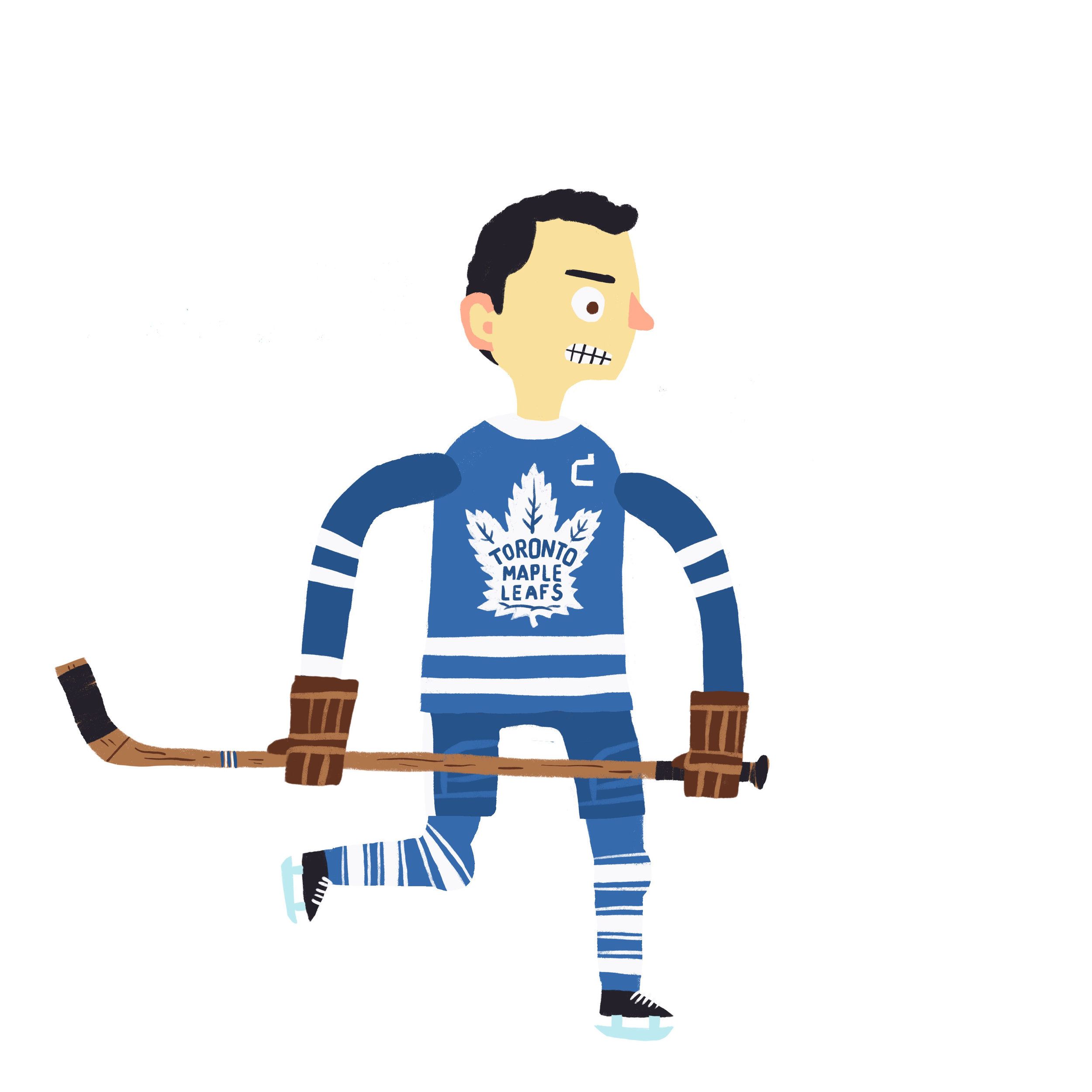 "THEODORE SAMUEL ""TEEDER"" KENNEDY, b. Port Colborne, ON Toronto Maple Leafs (1942-57)"