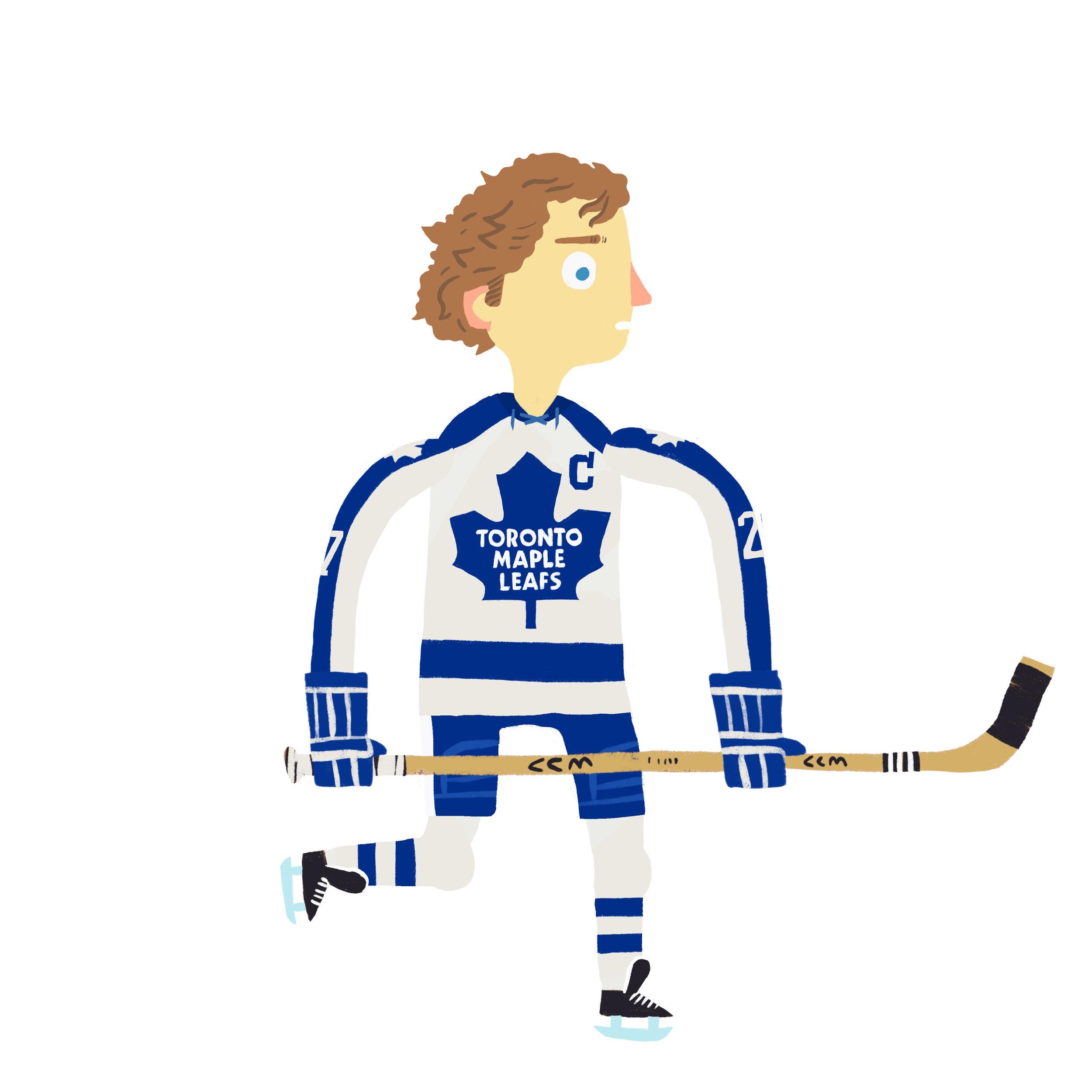 DARYL GLEN SITTLER, b. St. Jacobs, ON Toronto Maple Leafs (1970-82)
