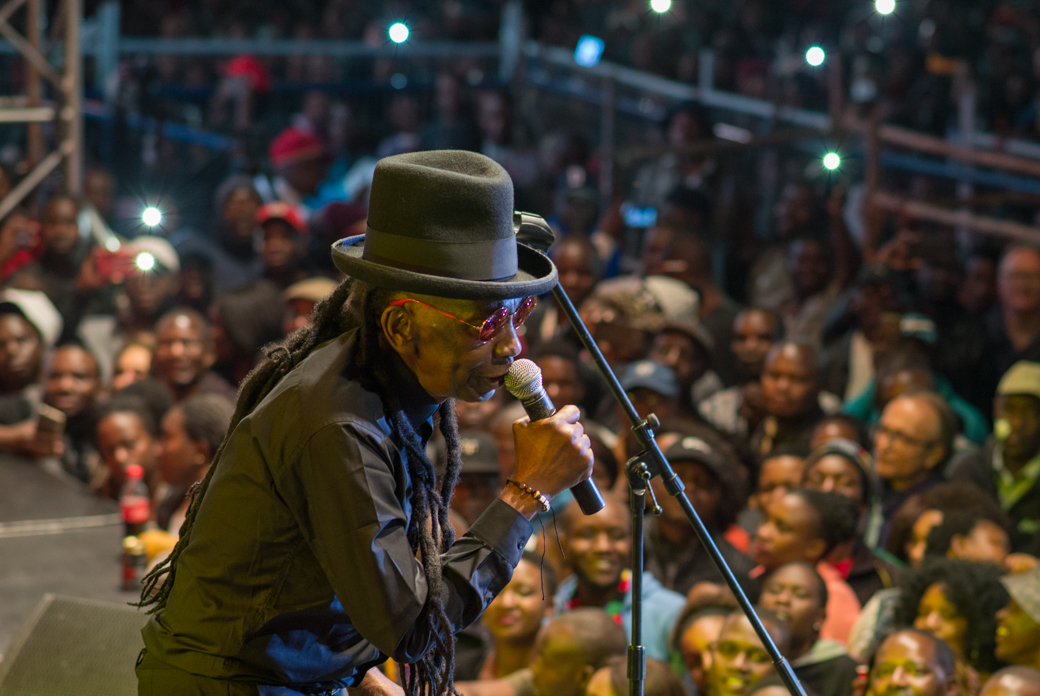 Thomas Mapfumo coming home to Harare, Zimbabwe, April 29, 2018