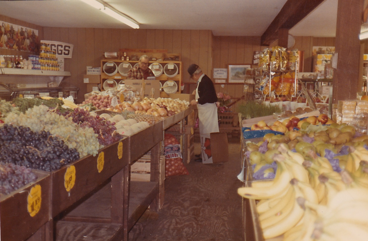 A classic produce shot from the 1980's. Some things never change.