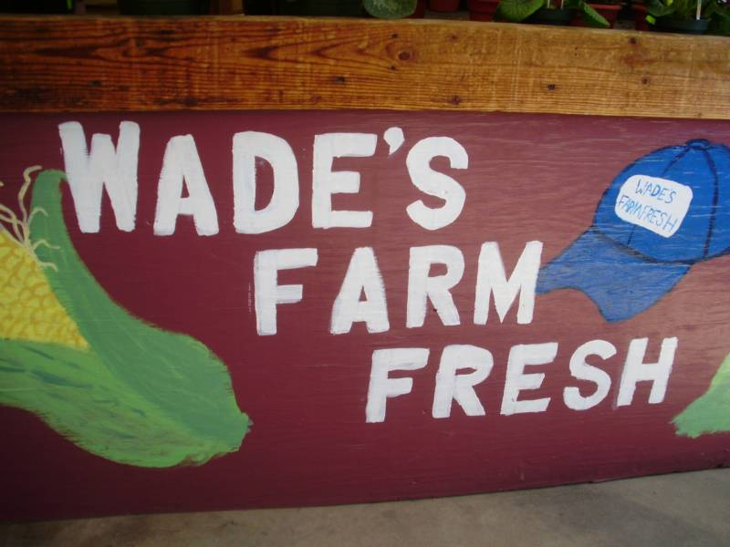 Wades Corn Table Words
