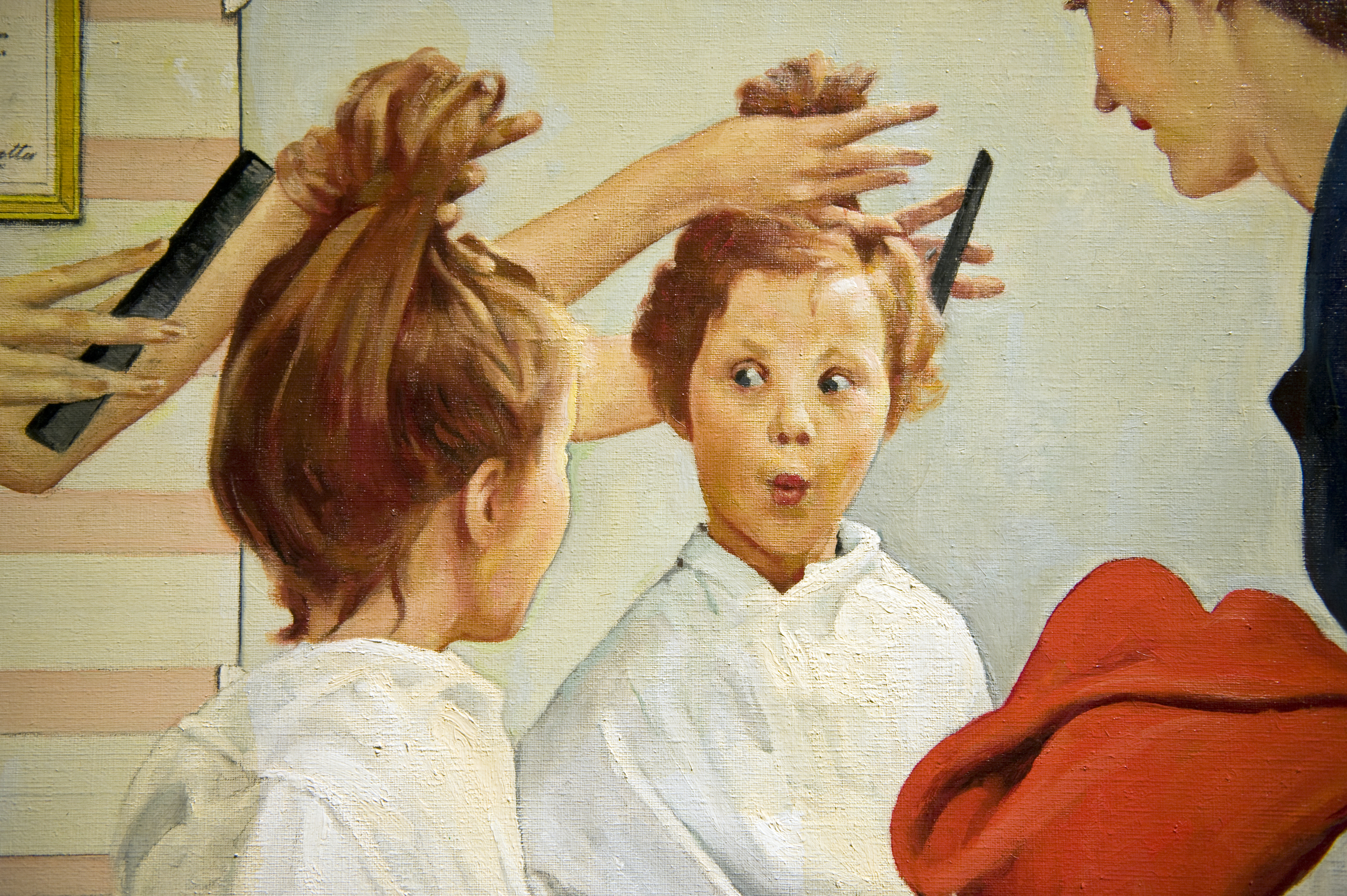 Paintings by Norman Rockwell