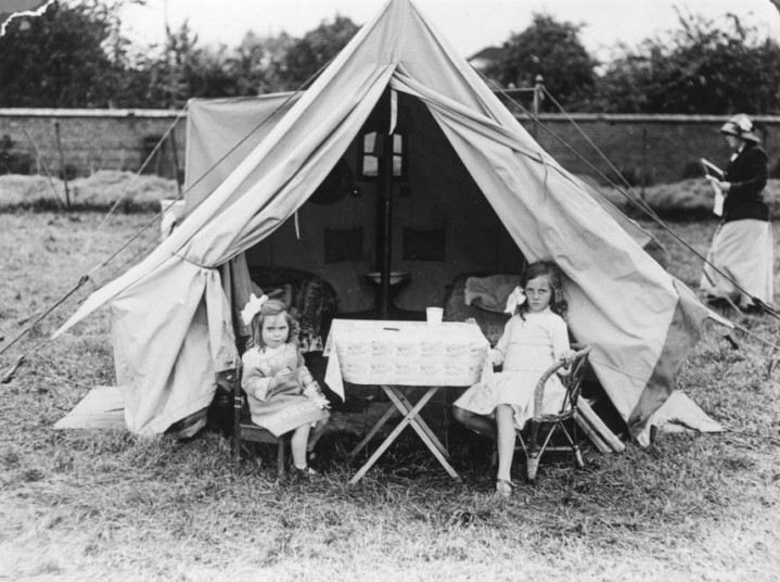 Camping in 1915