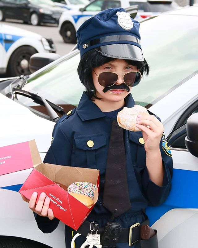 #donuts #police #kids #funnykid