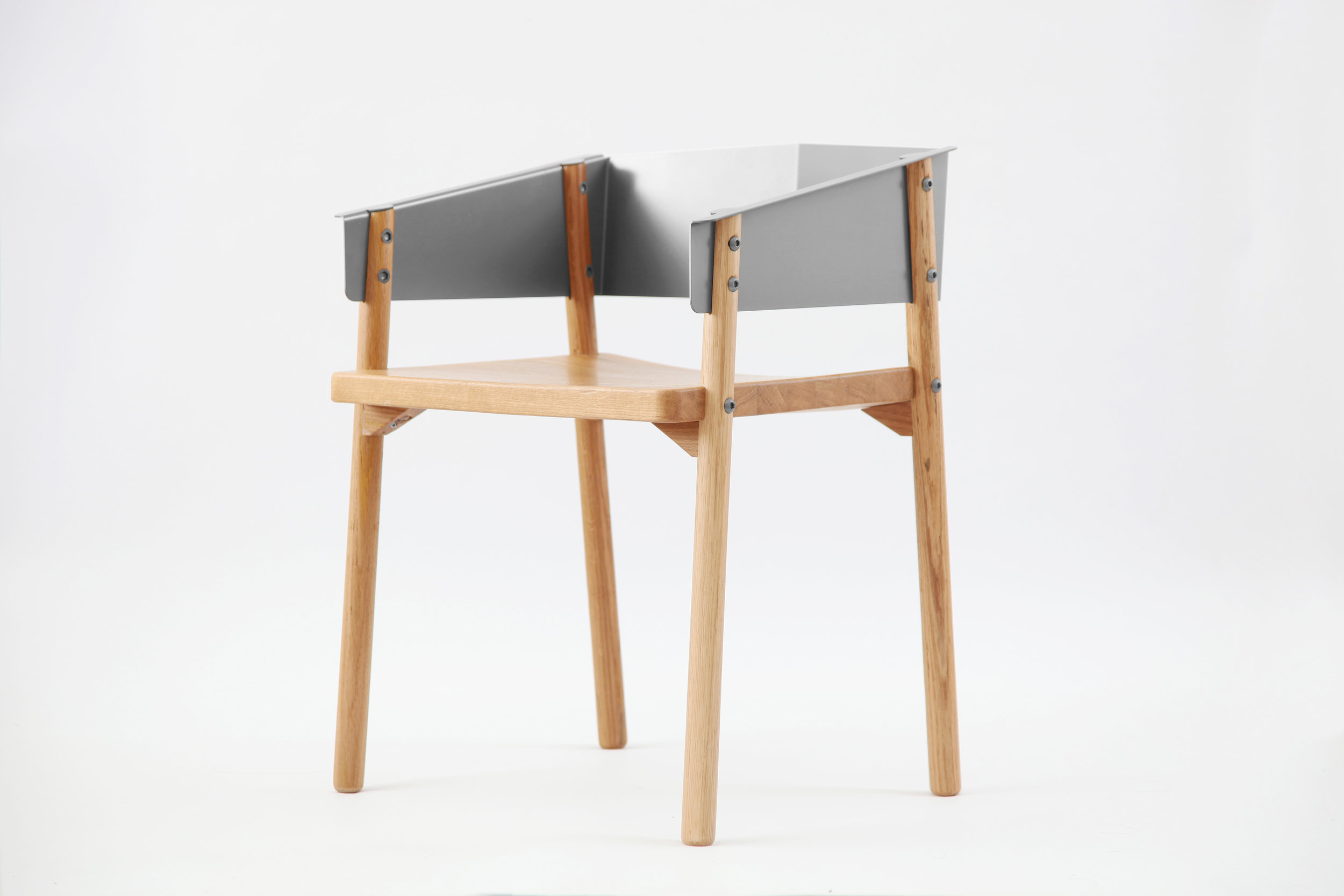 Note Chair - Stainless Steel
