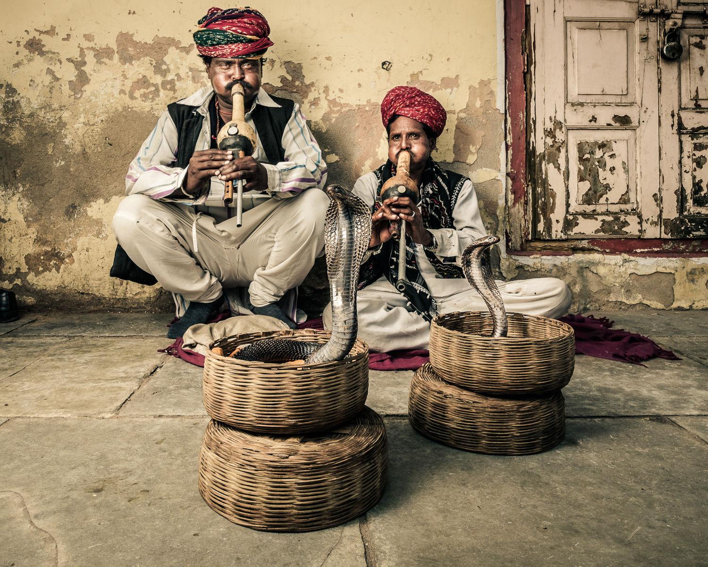 Snake Charmers. Jaipur