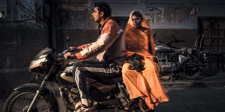 Motorcycle, Pushkar