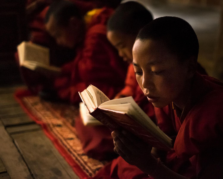 Young monks at Lamayuru Monastery