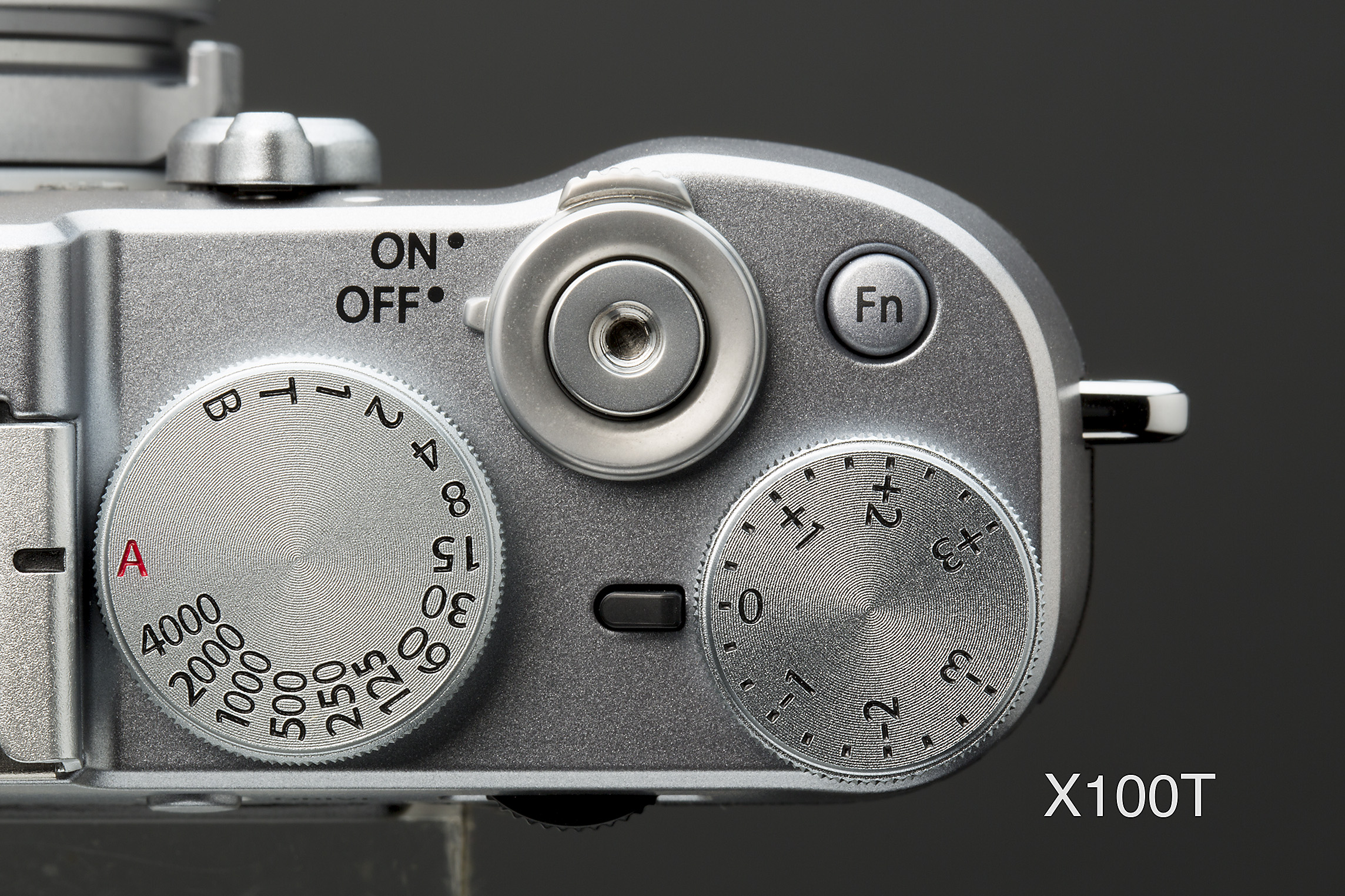 The X-100T's all manual controls. Image © Fujifilm