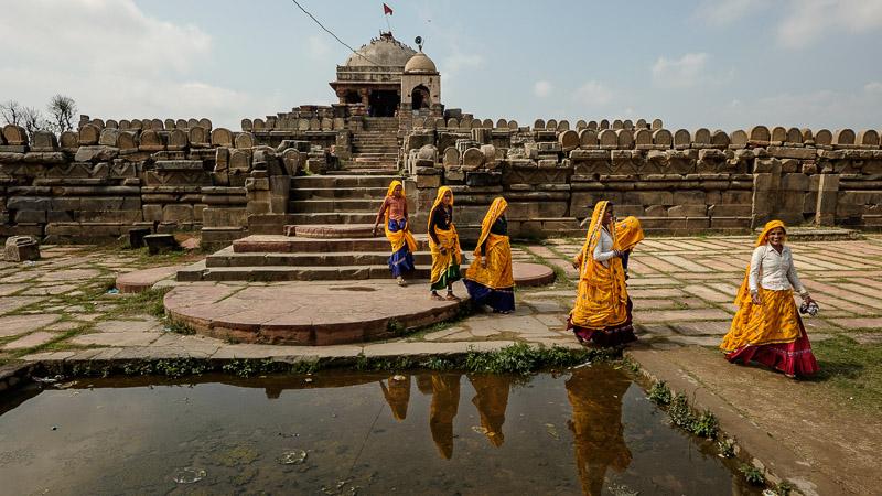 Temple life, Rajasthan