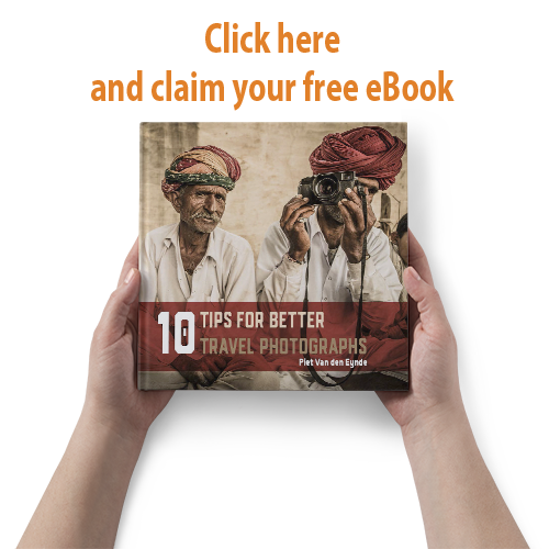 Get the free eBook  '10 Tips for Better Travel Photographs'  (available in Dutch or English) when you  subscribe to my newsletter !
