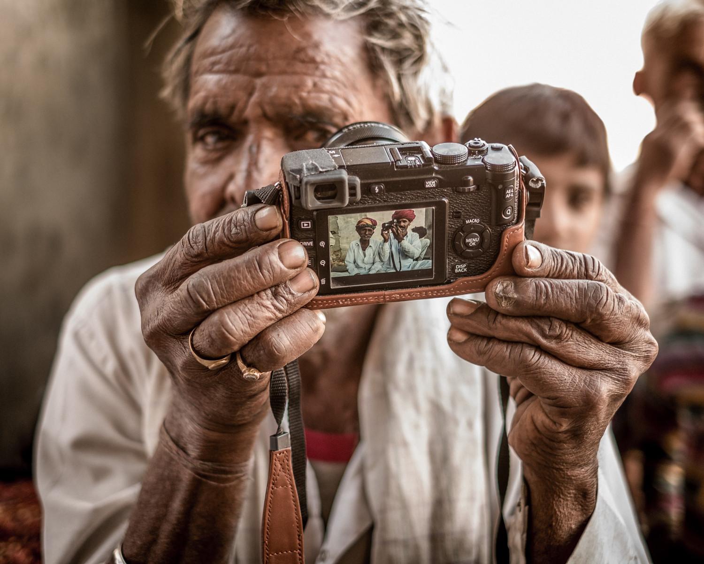 Selfie, Indian-style.
