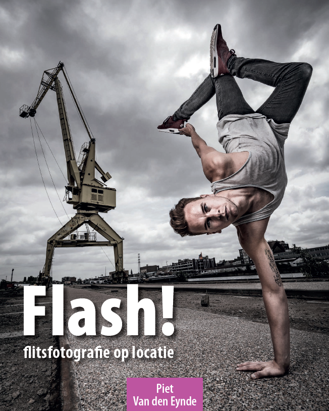 Flash! Flitsfotografie op locatie . 240 pagina's leren je alles over werken met je flitser op en los van de camera. Beschikbaar als gedrukt boek en PDF eBook.  Meer info .