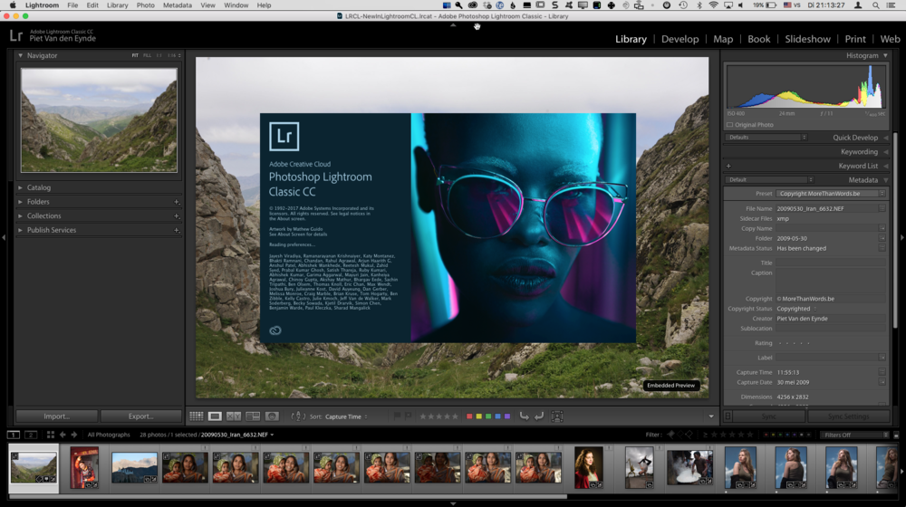 What's new in Lightroom Classic CC? — MoreThanWords.be