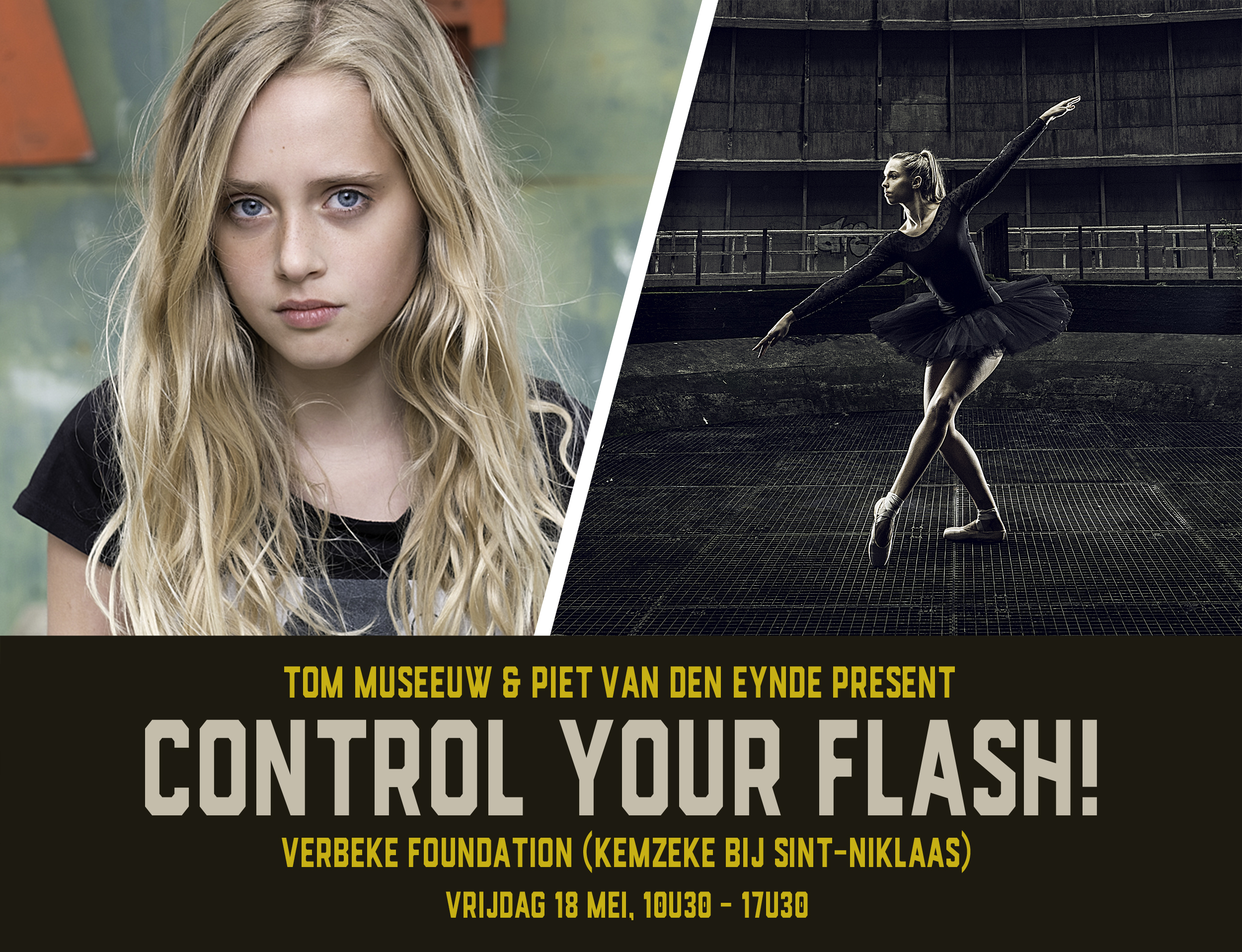 In  Control Your Flash  (Dutch) you will learn everything you need to know about mixing flash with available light.