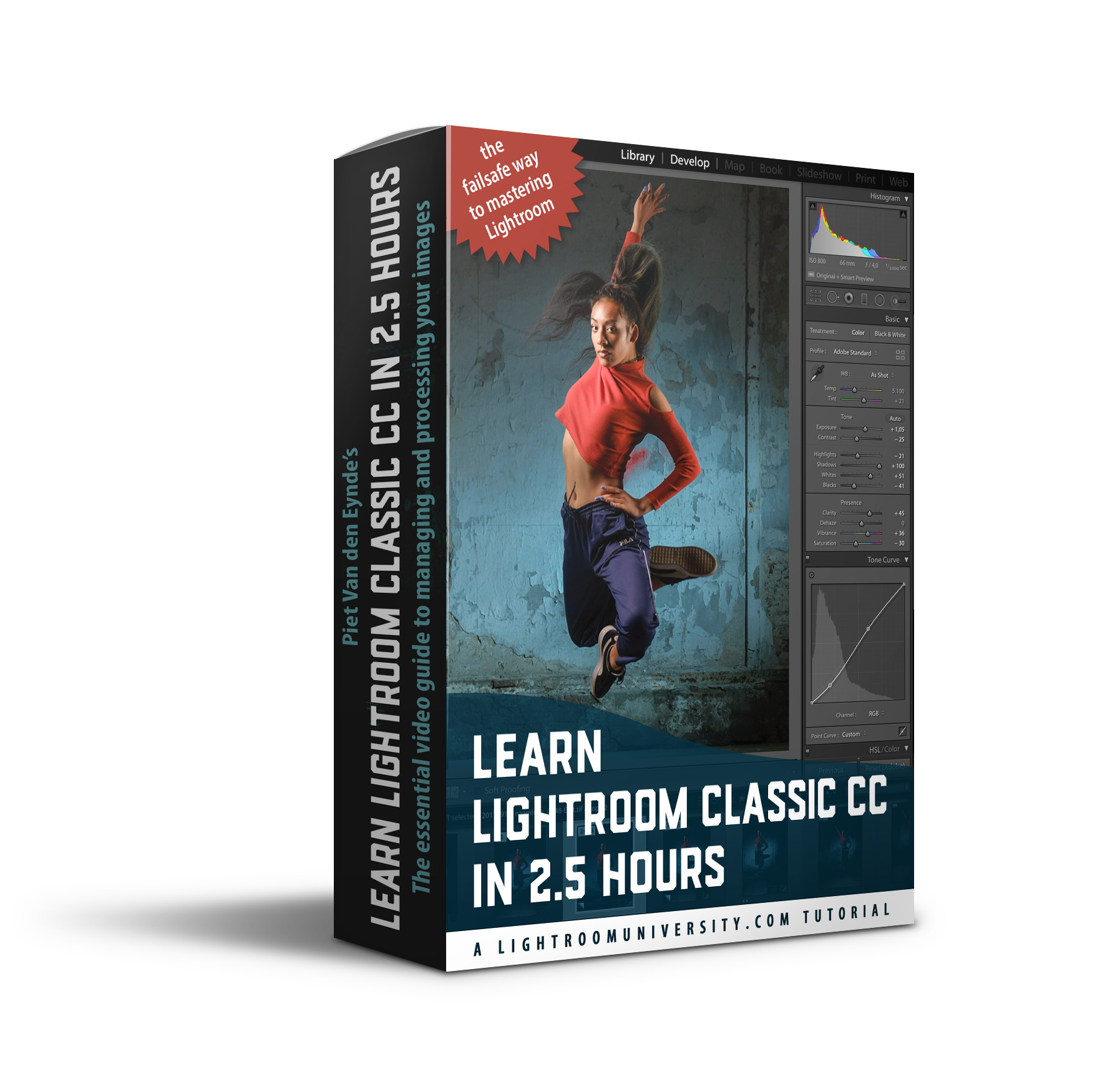 Learn Lightroom the right way - ✔︎ understand how Lightroom is different from other editing software like Photoshop✔︎ learn a failsafe way to importing images✔︎ understand what a Lightroom Catalog really is✔︎ discover my tried and true best practices for file and folder management✔︎ unlock the essential develop module tools✔︎ master the export dialog to share your images✔︎ this course is fully downloadable. Buy it now and watch it when you like, where you like and for as long as you like!