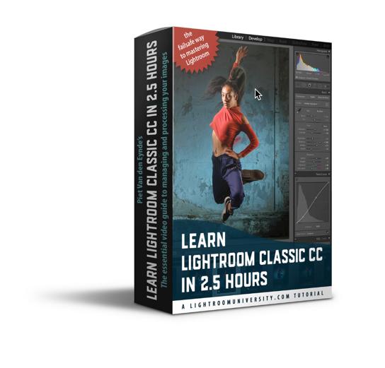 Leer Lightroom Classic in 2.5 uur . Inclusief oefenbestanden. Handige downloadbare video's die je overal kan bekijken.