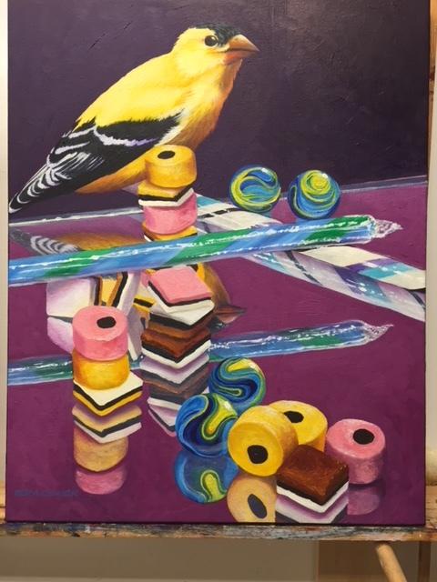 """Sweet Treasures II  Oil on canvas  20"""" x 16"""""""
