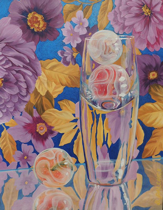 """Spirit Eggs l  Oil on panel  14"""" x 11"""""""