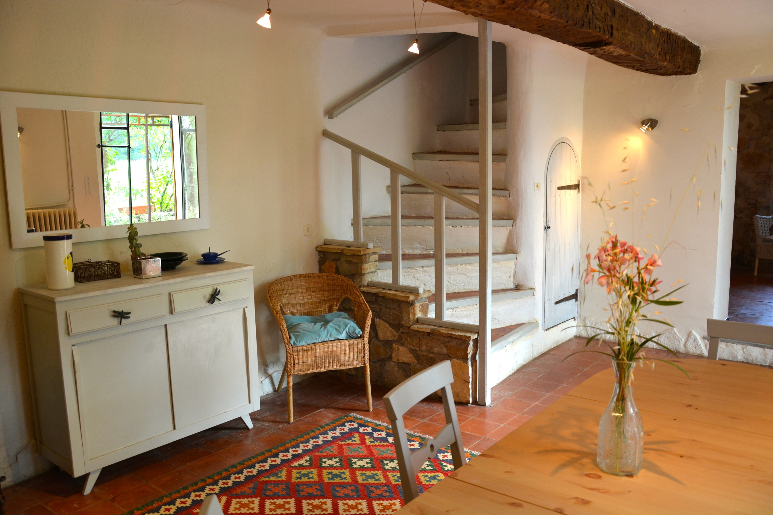 Mas Saint Antoine stairs