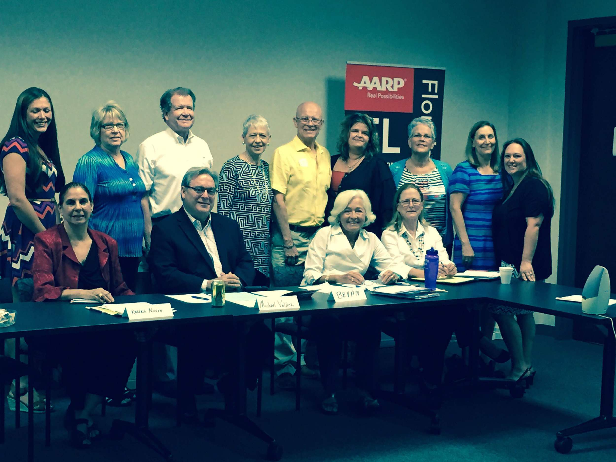 Our White House Conference on Aging Listening Event at #AARP Florida State office in St. Petersburg, Florida.