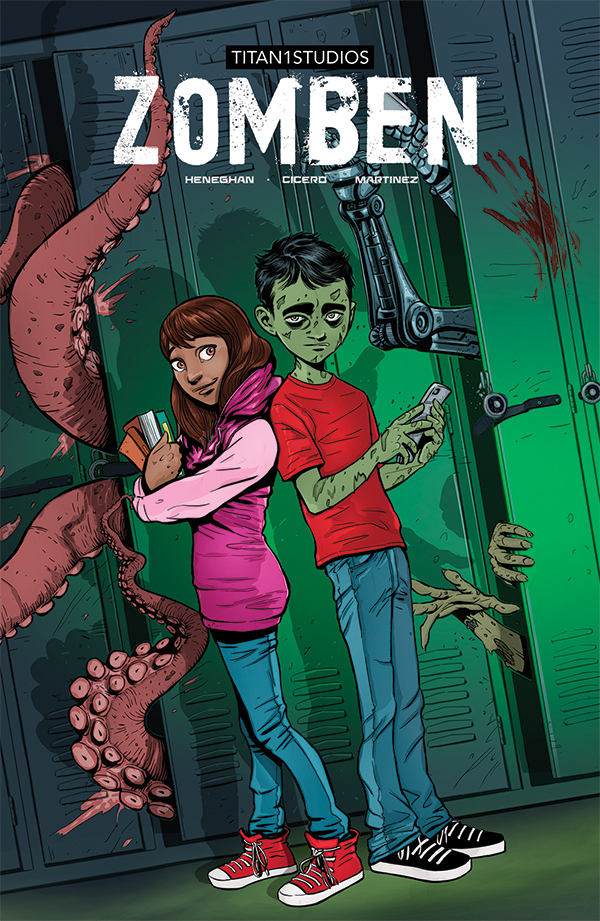 The debut title from breakout Irish writer Mike Heneghan and artist Abel Cicero (Mask). Colours by Manoli Martinez and Letters by Aditya Bidikar (Motor Crush).