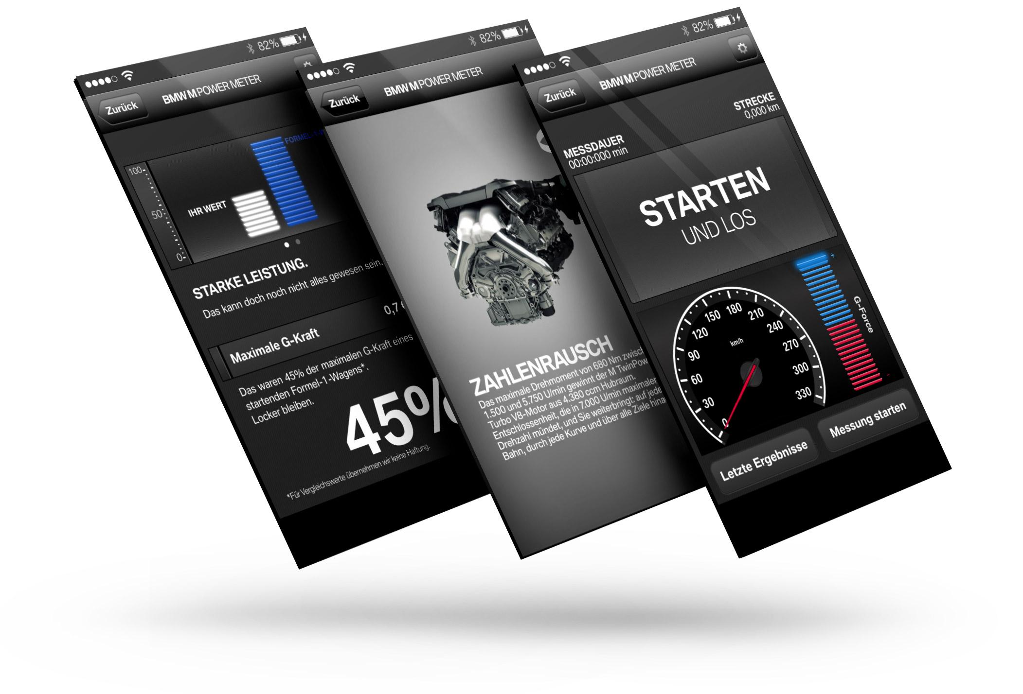 BMW PowerMeter App 2