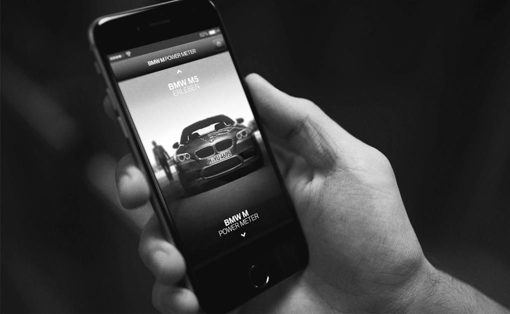 BMW Power Meter  Mobile App  → Showcase