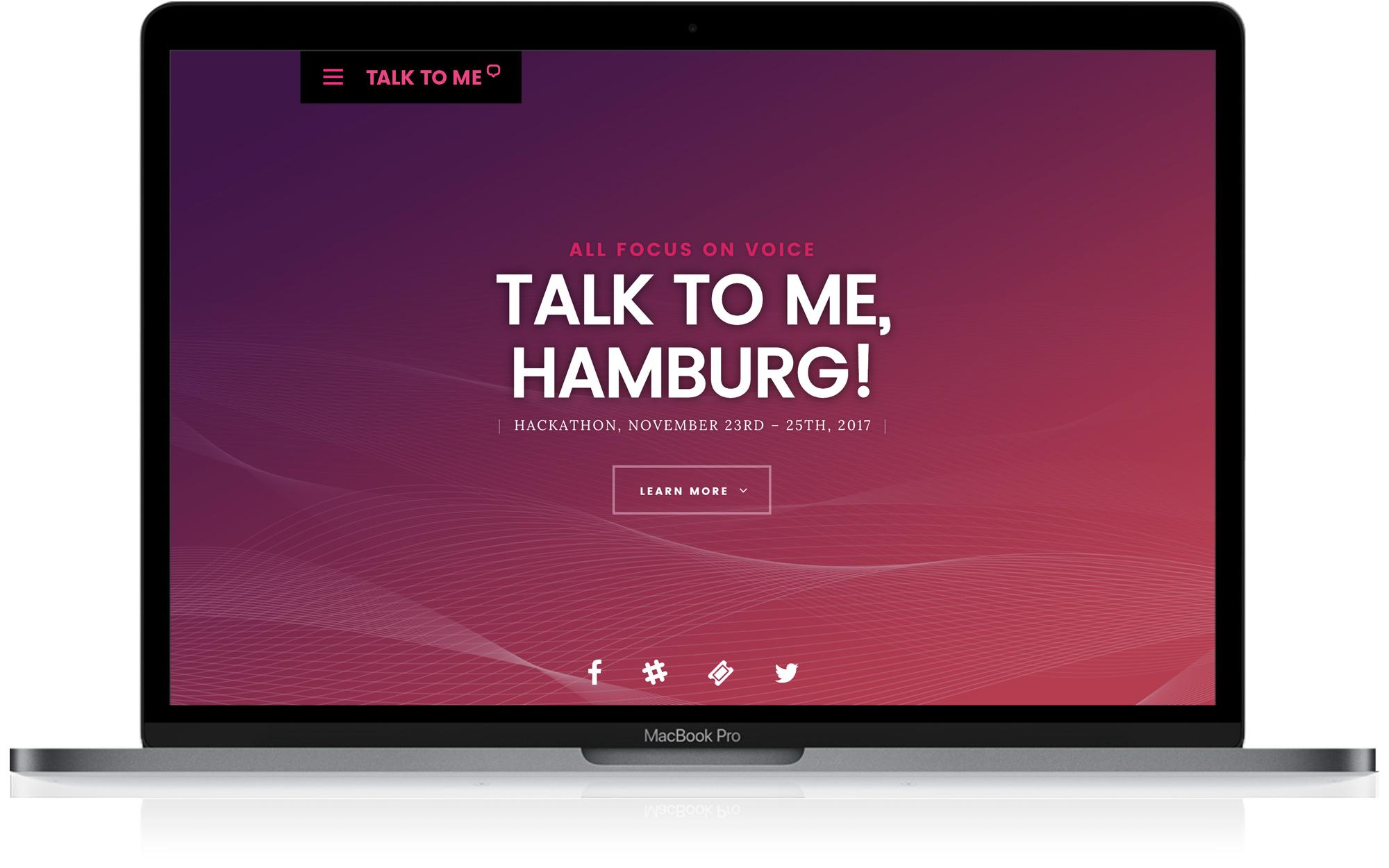 Talk to me Hamburg