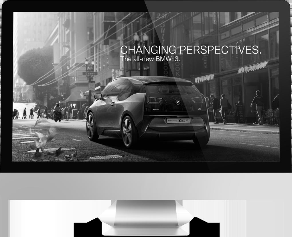 BMW i3 Campaign  Interactive / Online-Campaign  → Showcase