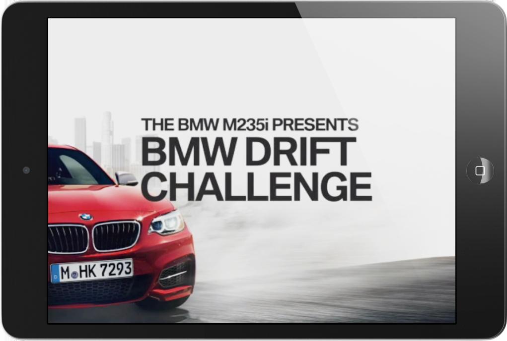 Drift Challenge  Interactive iAD  → Showcase