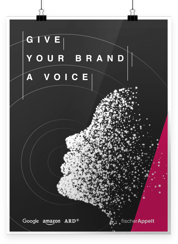 Give your brand a voice  Visual design / Voice assistant workhop  →Showcase