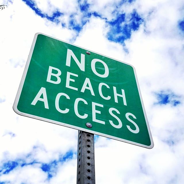 There's no beach to see here... go home #kooks ! #nokooks #beachlife #southbay #southbaylife #summersover