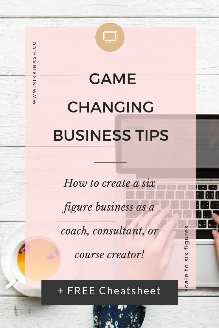 Game Changing Business TIps