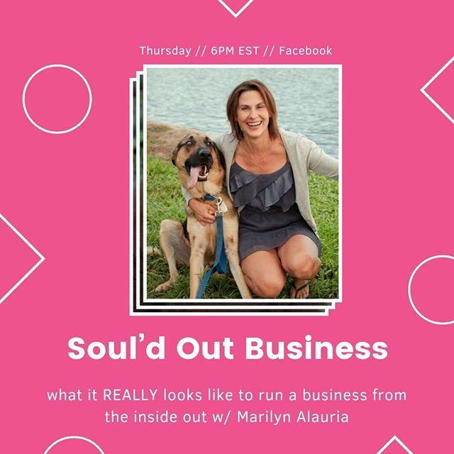 24 hours until this Facebook live event! ⠀⠀⠀⠀⠀⠀⠀⠀⠀ ⠀⠀⠀⠀⠀⠀⠀⠀⠀ Have you ever taken an online course or watched a webinar where you were given a step by step guide to reaching your goal, but it just didn't feel right?  Or maybe you've been HUSTLING to build your business and despite all of your efforts, you still aren't getting the results you desire.  What if you had a guidance system for knowing how to focus on the RIGHT things to get the fastest results? The things that felt like the right next step for YOU.  My friend Marilyn Alauria and I are going live on my business page tomorrow to discuss the 4 must haves of creating a soul-aligned business so you can create more profits, attract more soul-mate clients, uncover your unique message, and find the shortest, easiest path to the results you want. ⠀⠀ ⠀⠀⠀⠀⠀⠀⠀⠀⠀ you DON'T want to miss this!⠀⠀⠀⠀⠀⠀⠀⠀⠀ ⠀⠀⠀⠀⠀⠀⠀⠀⠀ Will we see you there?