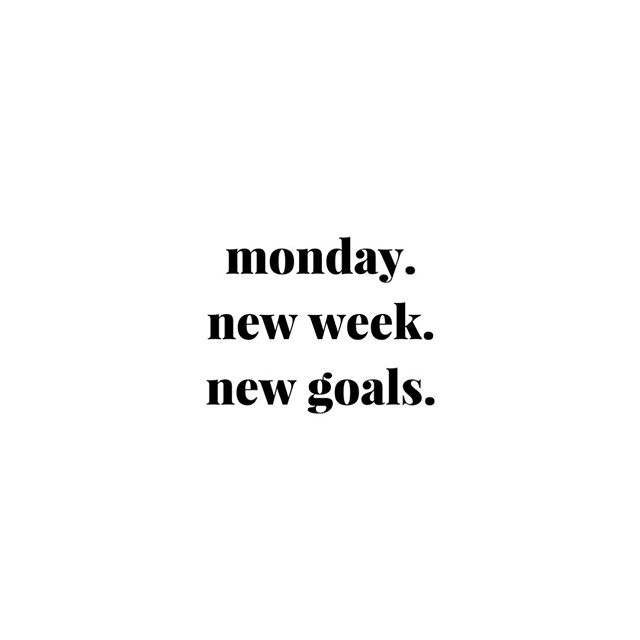 New week.⠀⠀⠀⠀⠀⠀⠀⠀⠀ ⠀⠀⠀⠀⠀⠀⠀⠀⠀ New goals.⠀⠀⠀⠀⠀⠀⠀⠀⠀ ⠀⠀⠀⠀⠀⠀⠀⠀⠀ Are you ready?⠀⠀⠀⠀⠀⠀⠀⠀⠀ ⠀⠀⠀⠀⠀⠀⠀⠀⠀ You've got this!