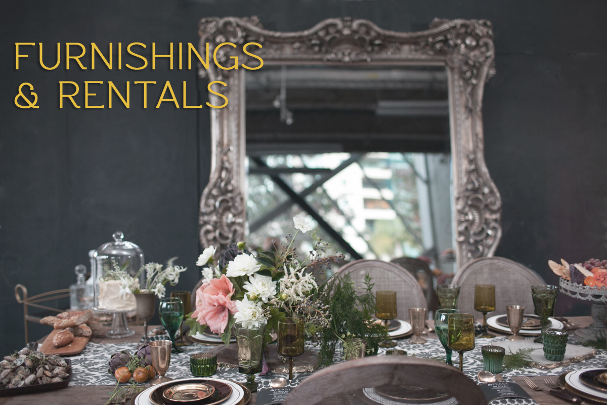 furnishings and rentals