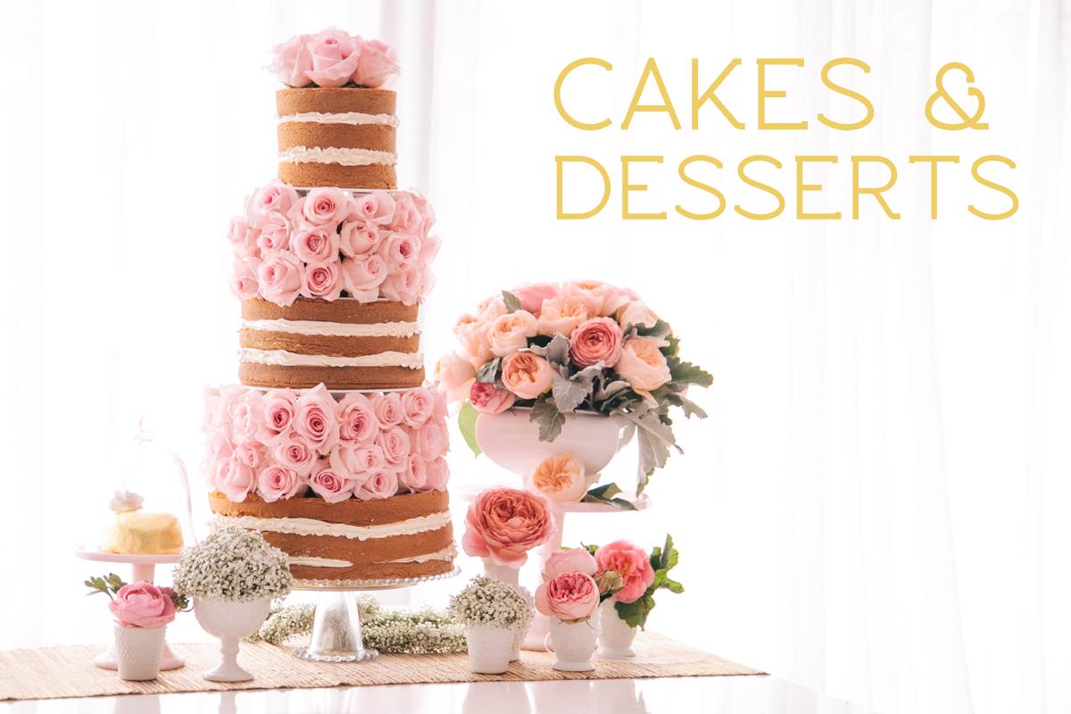 cakes desserts candies weddings