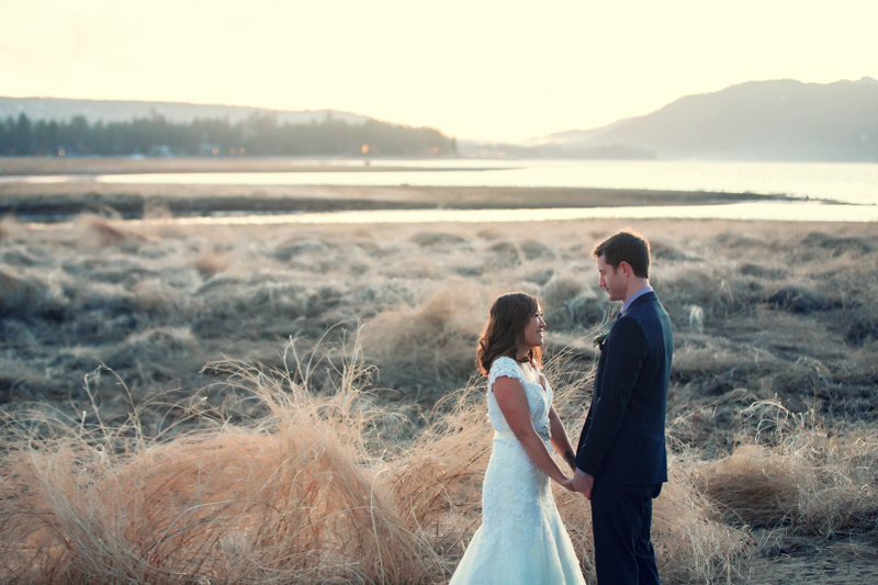 Bride and Groom at Big Bear by Derick Le Photography as seen on SanDiegoWedding.com (42 of 42).jpg