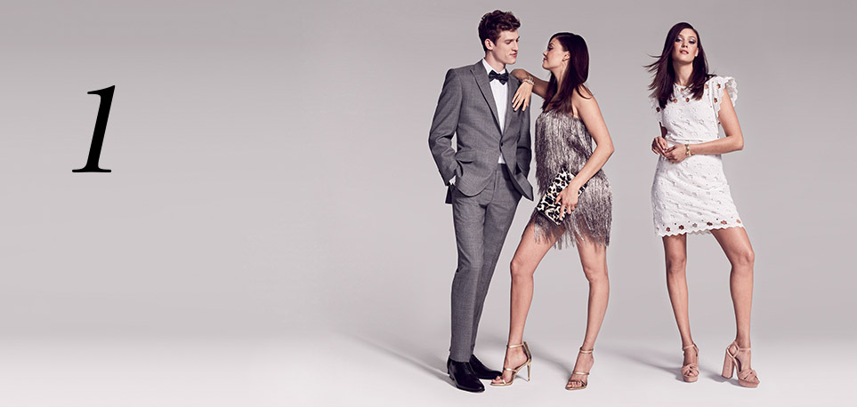 1.  Something for Everyone:  From the time you register until your occasion date, you'll receive 20% off a luxe assortment of clothing, fine jewelry and intimates.