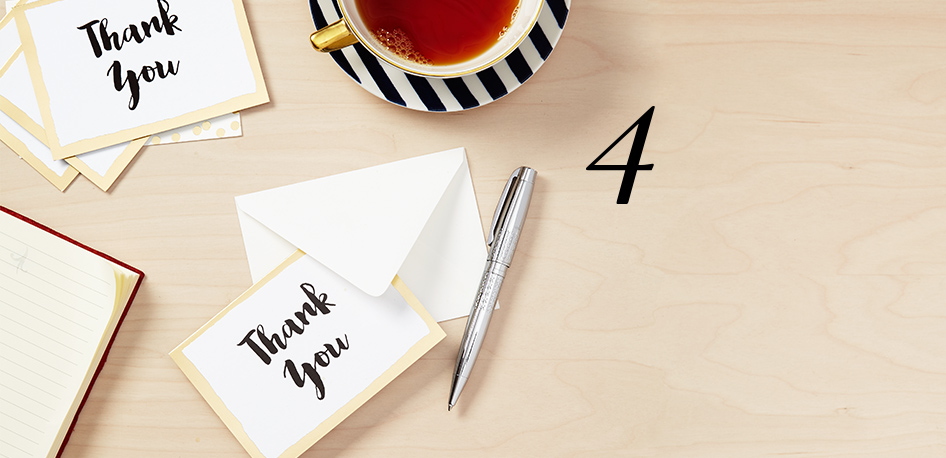 4 .  Thank You Manager:  Bloomingdale's Thank You Manager makes it beyond simple to keep track of the gifts you receive and the thank you cards you've completed. It's available to you 24/7 and will help you stay organized.