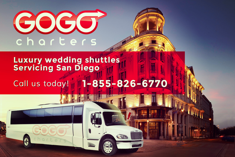 GOGO Charters charter buses