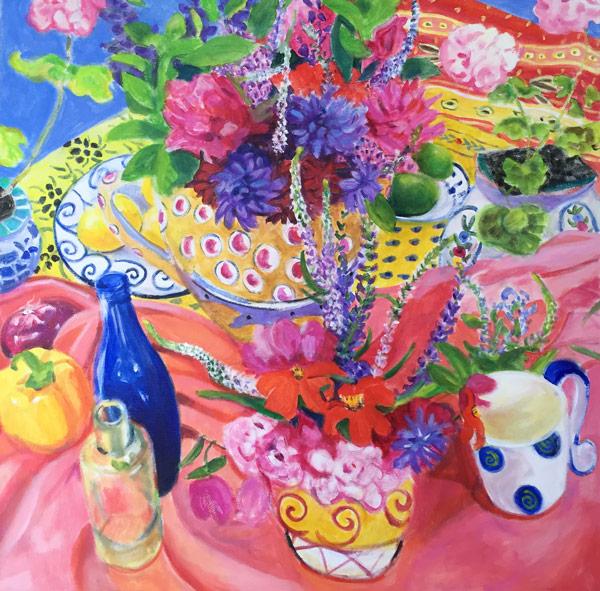 "Matisse Morning 36 x 36"" Acrylic"