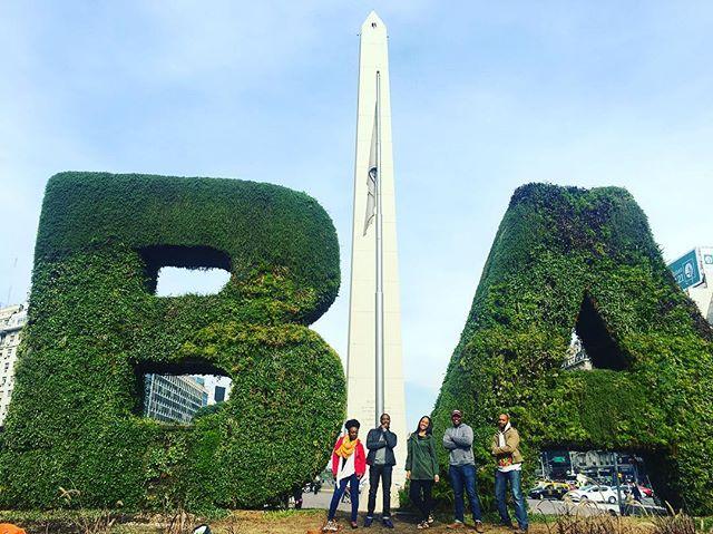 The Global Cities Cultural Exchange Program: Buenos Aires is underway! #BlackBeyondBorders