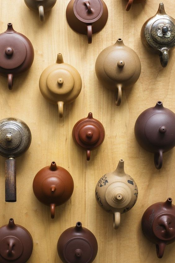 Variations of the clay teapot